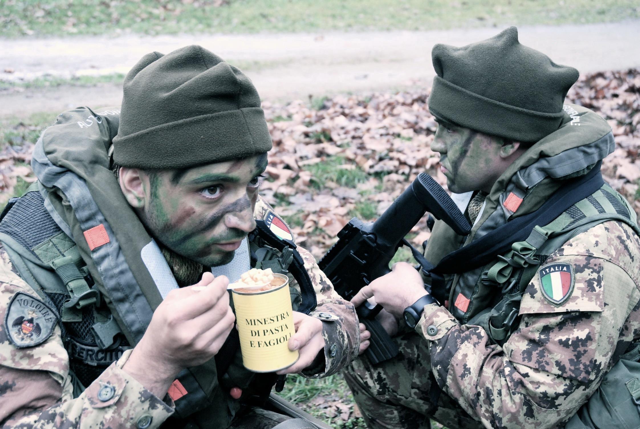 le razioni k per i nostri militari senza maiale per gli