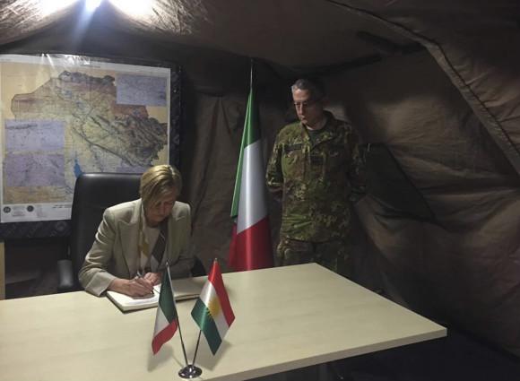 pinotti iraq difesa infodifesa