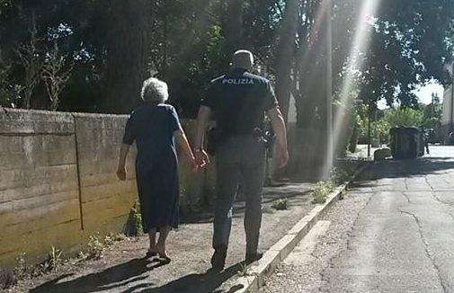 polizia volante infodifesa nonnina