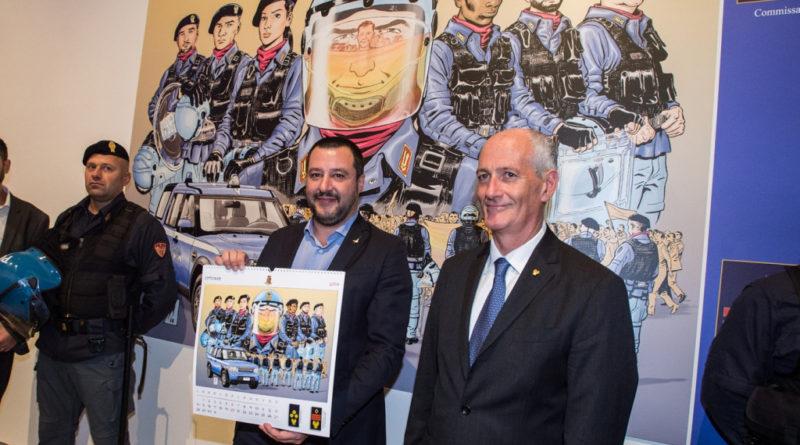 Calendario Concorso Polizia.Calendario 2019 Della Polizia Ecco Le Foto Infodifesa