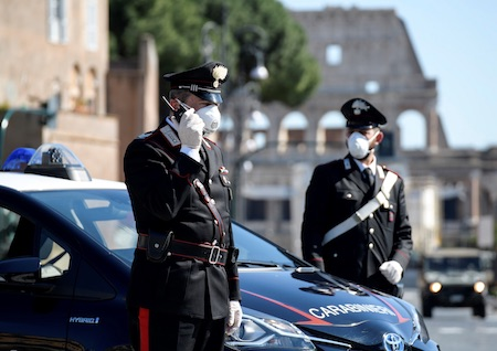 Carabinieri, NSC: Protocolli e misure di contrasto COVID-19 - INFODIFESA